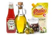 Растительные масла, соусы, приправы, майонез